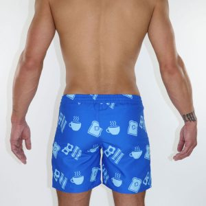 "YOCISCO Breakfast swim trunk 6"" back"